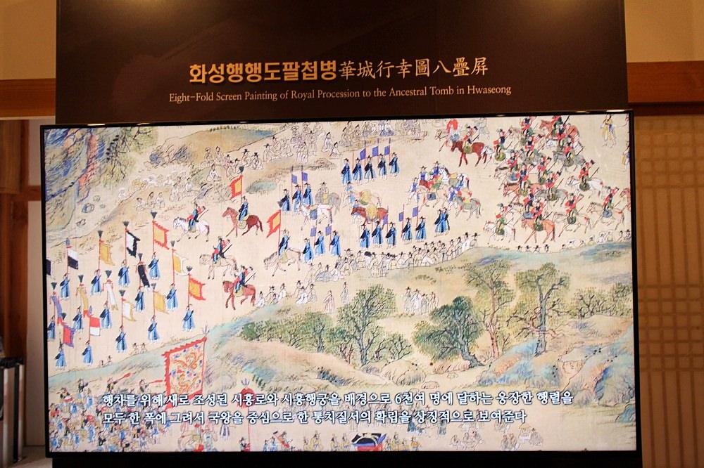 韓國京畿道|水原傳統文化體驗館 韓國版的清明上河圖
