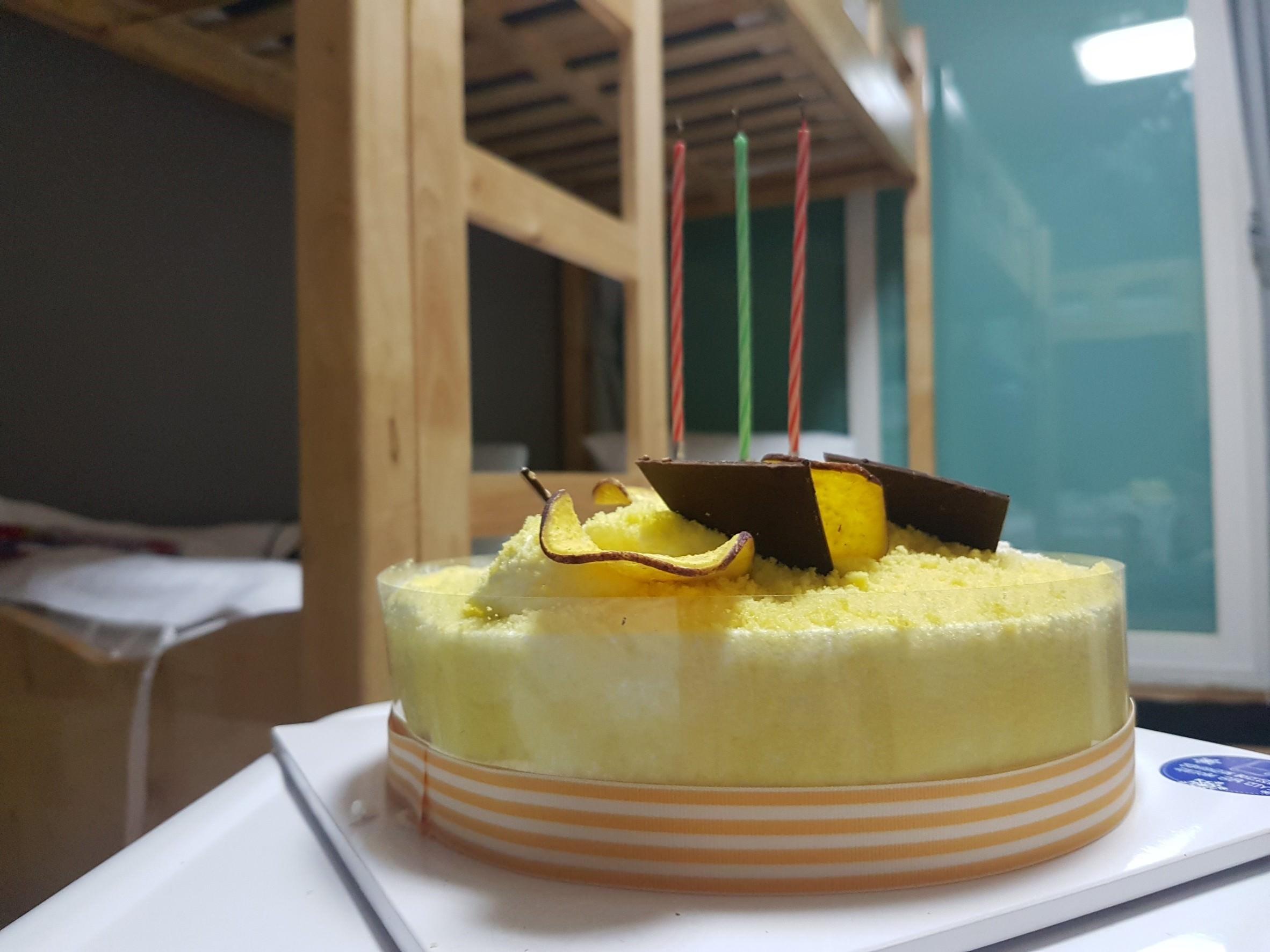 韓國生日慶生::Parisbaguette 在首爾弘大挑蛋糕,韓國慶生習俗大全