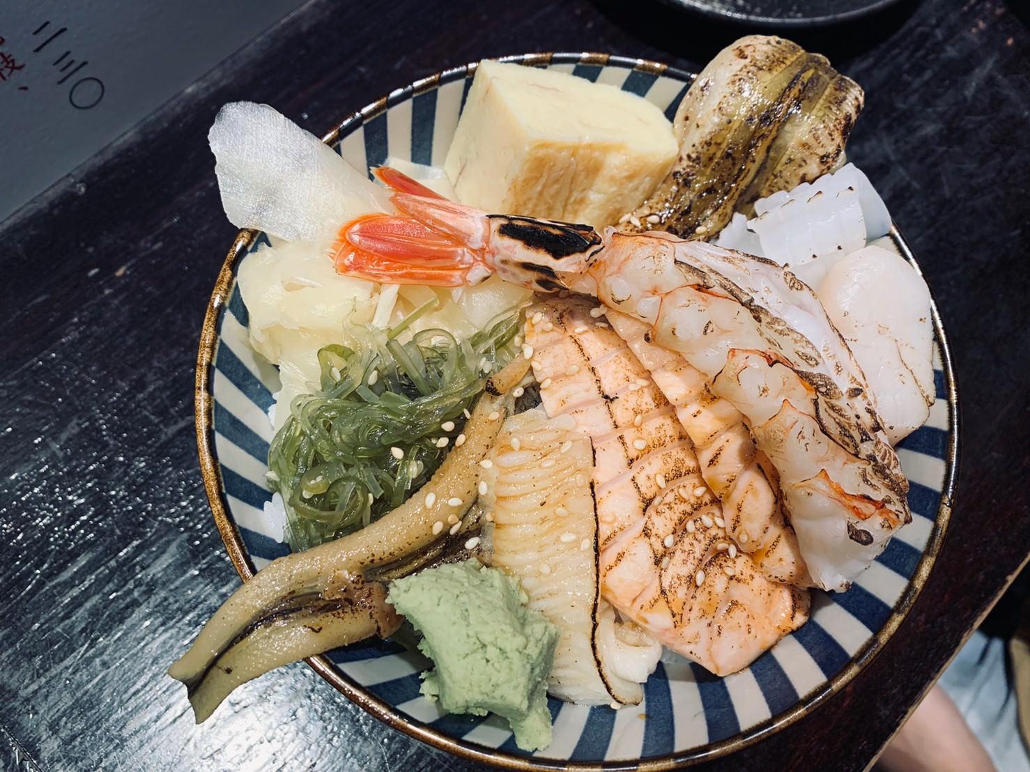 台北生魚片推薦 :: 旨丼 滿滿海鮮不用300元還鮭魚味噌湯免費續