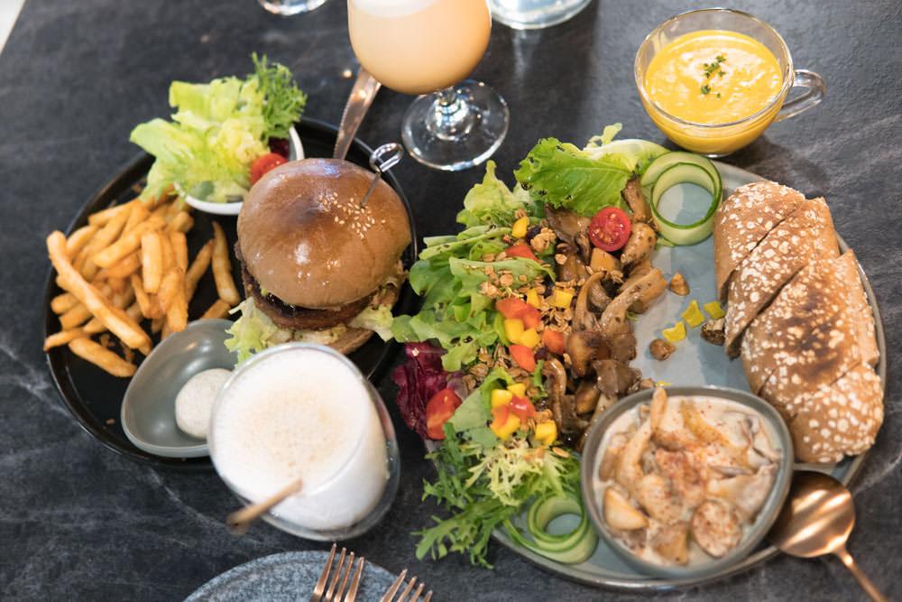 松菸餐廳推薦 :: BaganHood蔬食餐酒館 台北最美味素食餐,Beyond Meat未來漢堡肉比豬肉更美味
