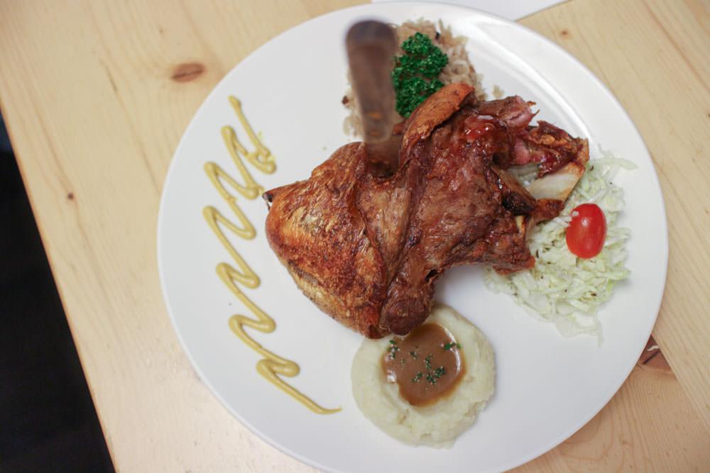 台北德國餐廳推薦 :: 巴獅子德國餐廳 想吃德國老闆家鄉味?巴伐利亞出色烤豬腳和脆皮豬五花