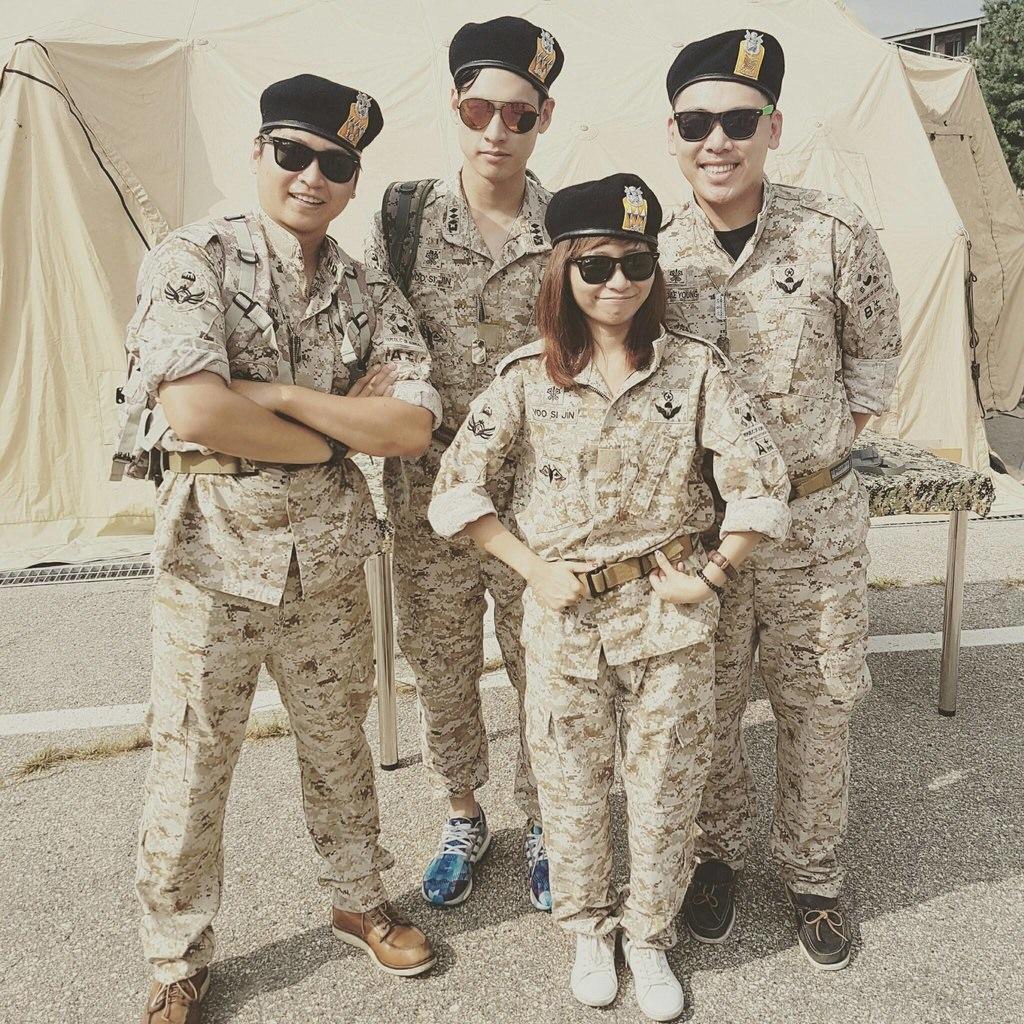 韓國自由行|京畿道DMZ格里夫斯營 韓劇「太陽的後裔」烏魯克太白部隊營區當一日大尉
