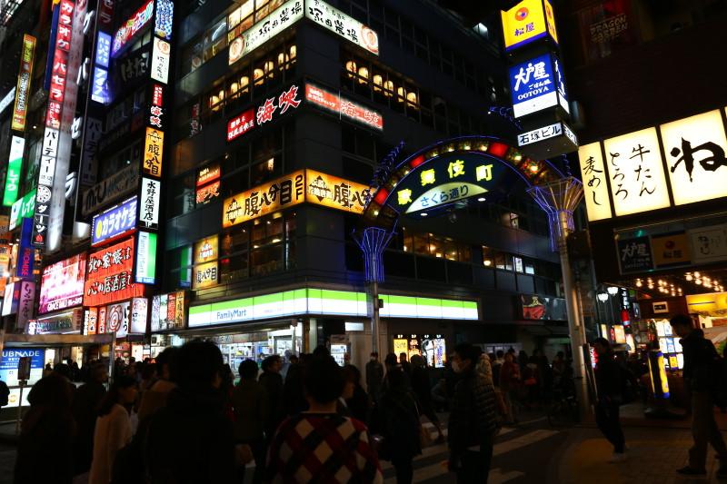 日本自由行Day1/東京,妳好!初次見面 羽田機場到市區、東新宿太陽道、新宿京王百貨和歌舞伎町