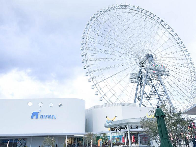 大阪新地標﹞REDHORSE OSAKA WHEEL 日本最高123m的摩天輪